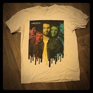 Maroon 5 2010 Concert Shirt